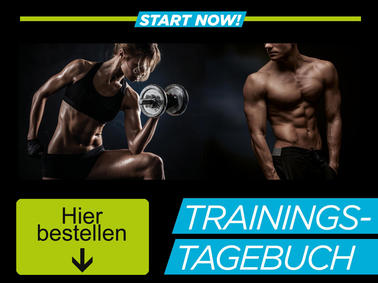 Das Trainingsworld Trainingstagebuch