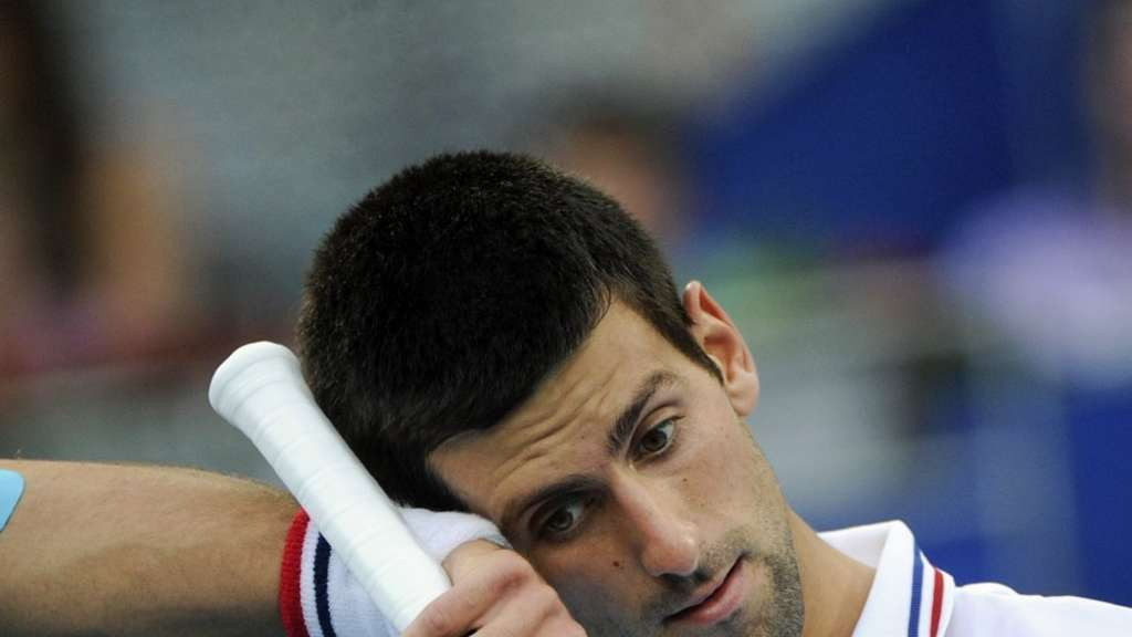 In Madrid ausgeschieden: Novak Djokovic