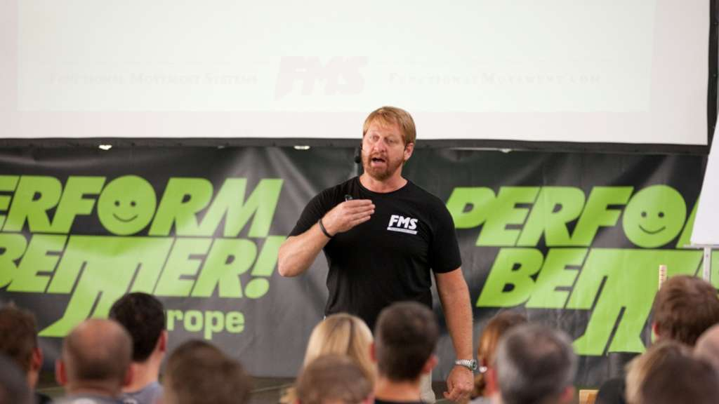 Gray Cook referiert beim Functional Training Summit 2013