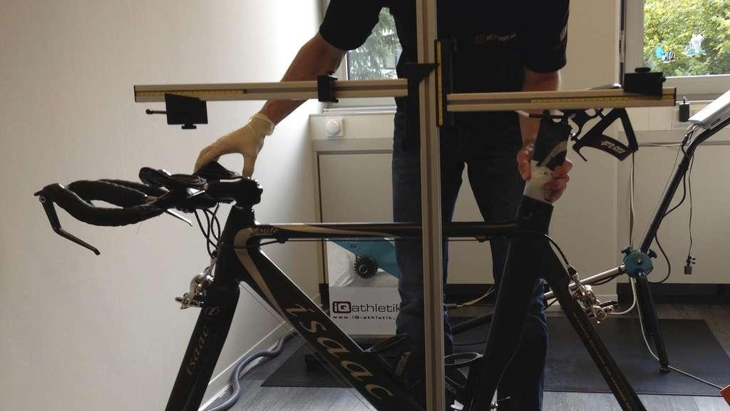 bike fitting machine