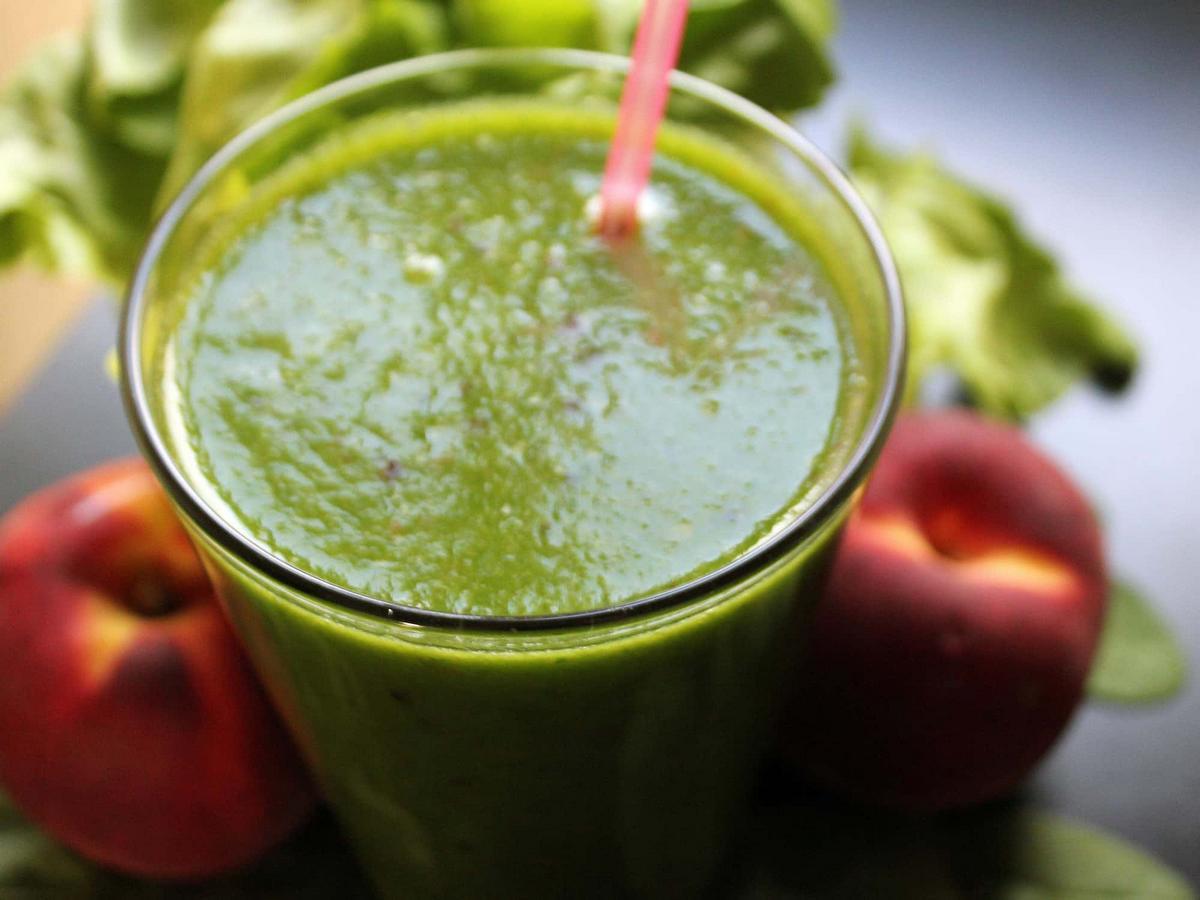 Grüner Saft effektiver zur Gewichtsreduktion