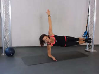 Side Plank Rotation mit PhysioLoop