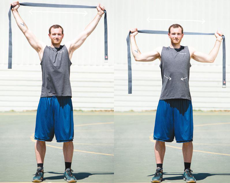 Nie wieder Schulterschmerzen: einfache & effektive Übungen für zuhause