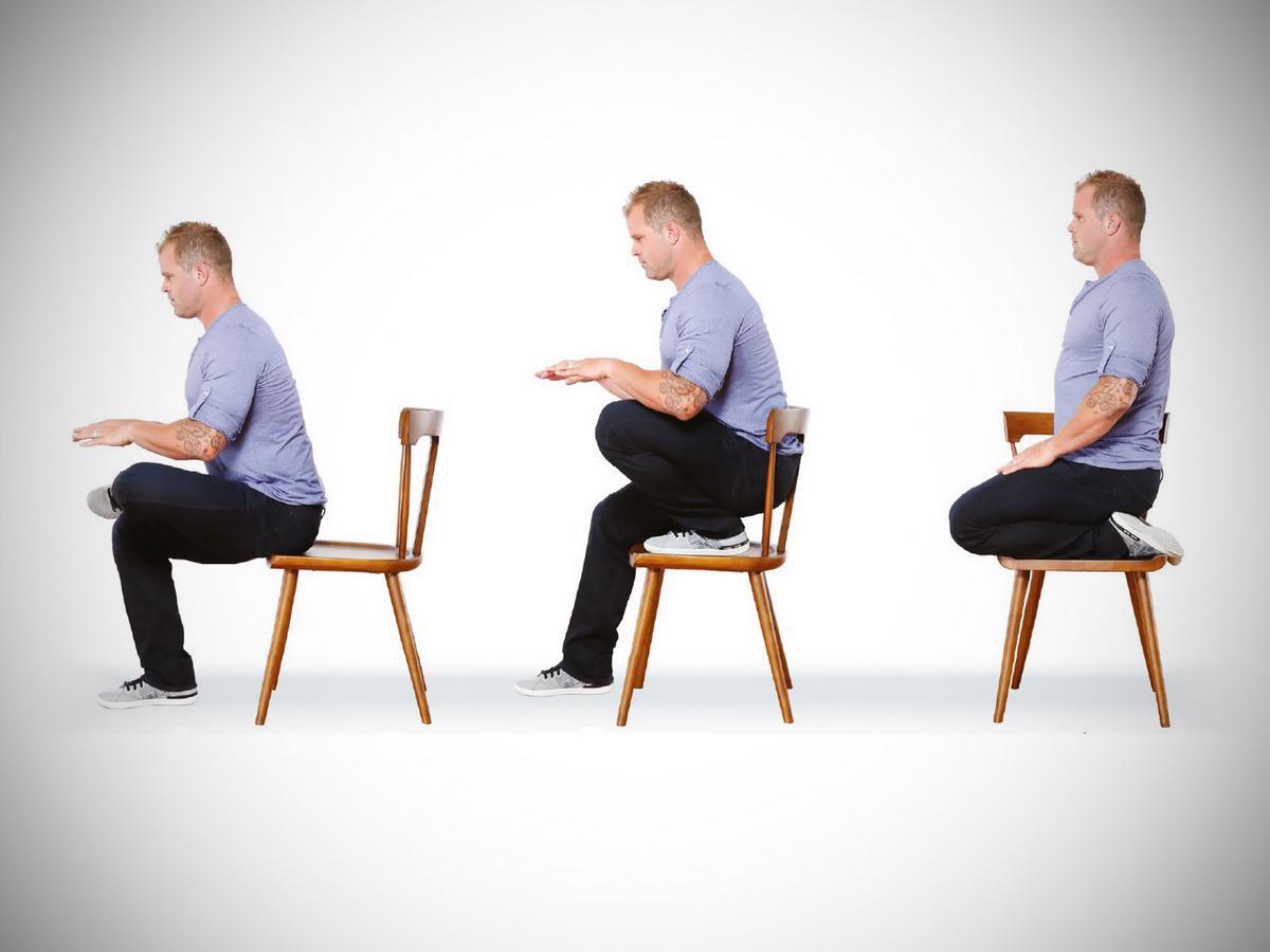 ergonomisch richtig sitzen am pc arbeitsplatz. Black Bedroom Furniture Sets. Home Design Ideas