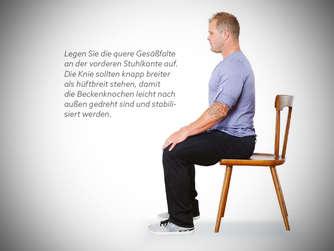 nie mehr r ckenschmerzen so sitzen sie im b ro richtig sportmedizin. Black Bedroom Furniture Sets. Home Design Ideas