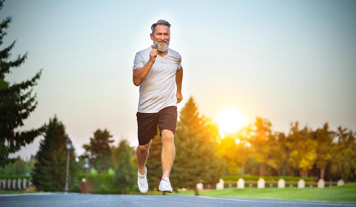 Schnelligkeit und Kraft für ältere Sportler