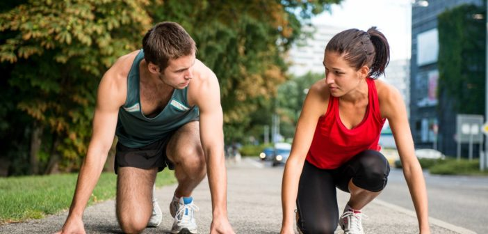 Leistungszeiten bei Frauen und Männern