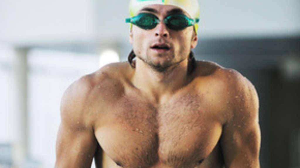 Schwimmer Muskeln