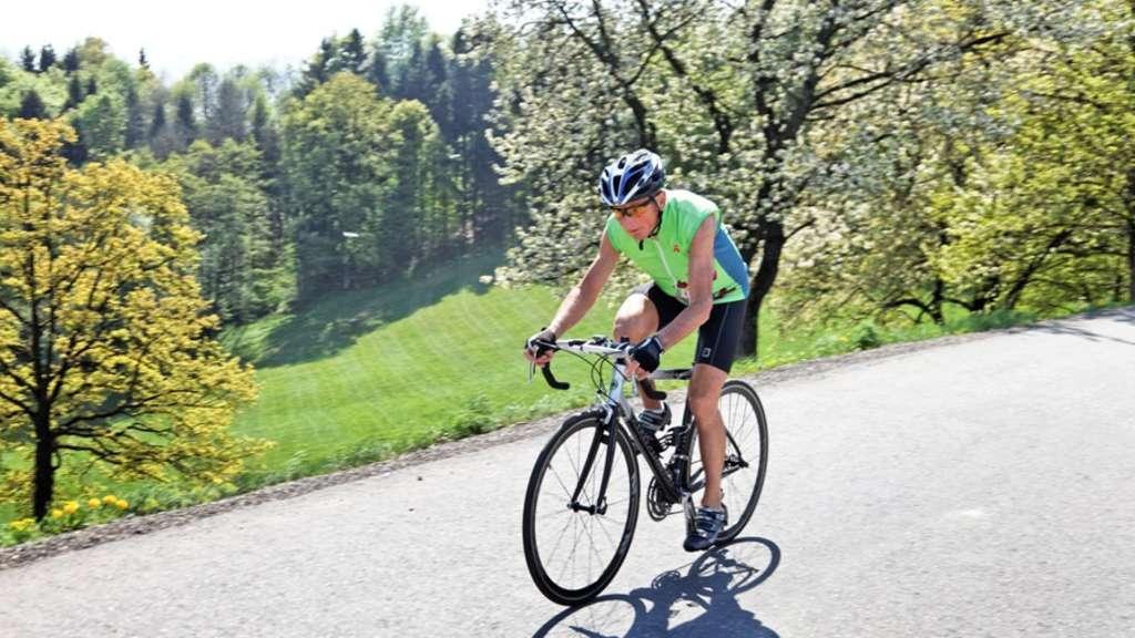 Radfahren bei aktivierter Arthrose