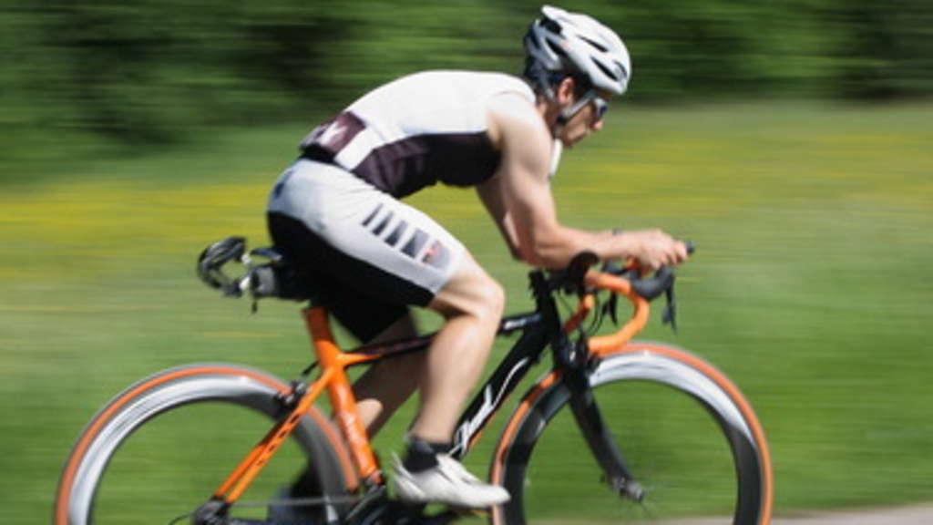 Radfahrer Oberschenkel