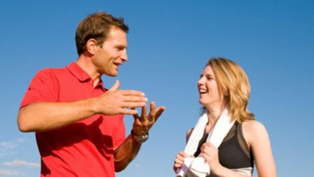 Dating eines physischen Trainers