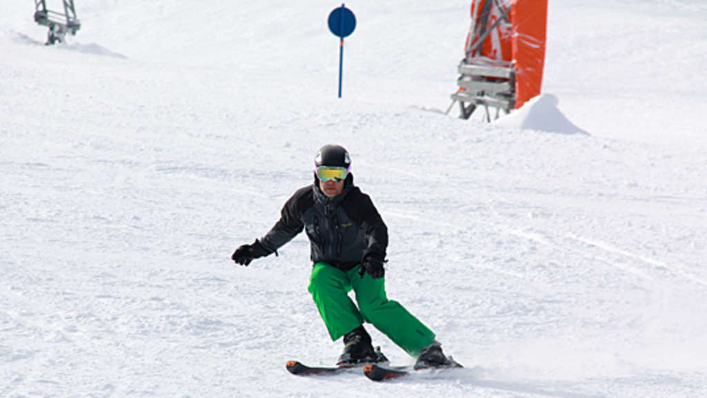 Carving geschnitten oder gedriftet training wintersport