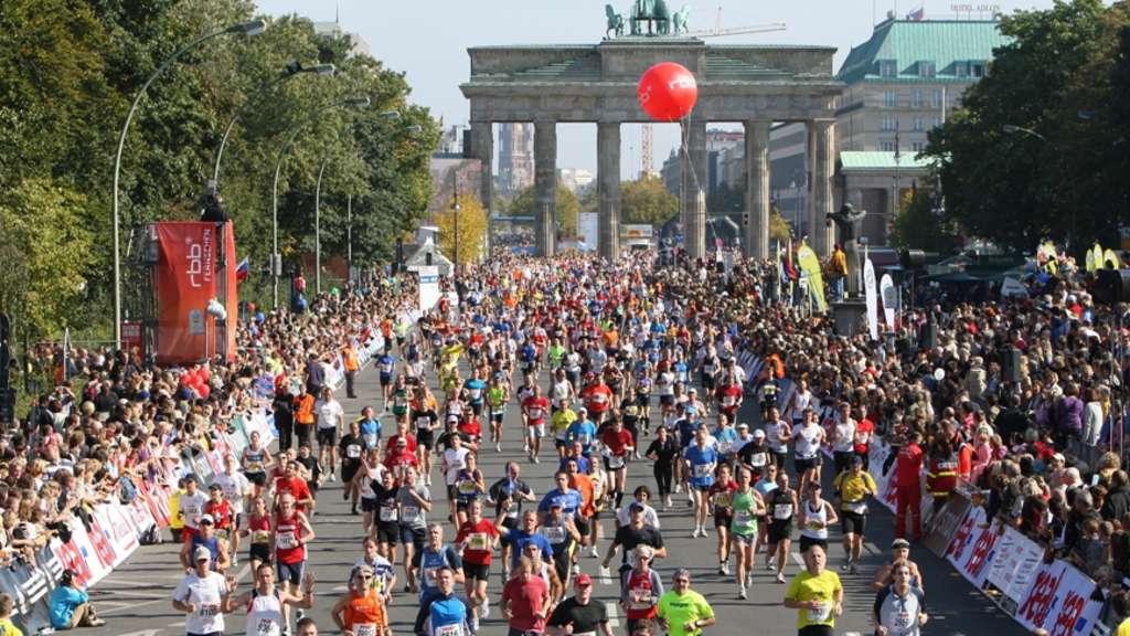 Marathon Strecke Berlin 2021