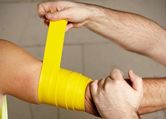 Flossing: Therapie und Training