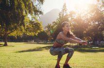 Kniebeugen mit dem eigenen Körpergewicht