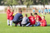 Fußballtraining mit Kindern