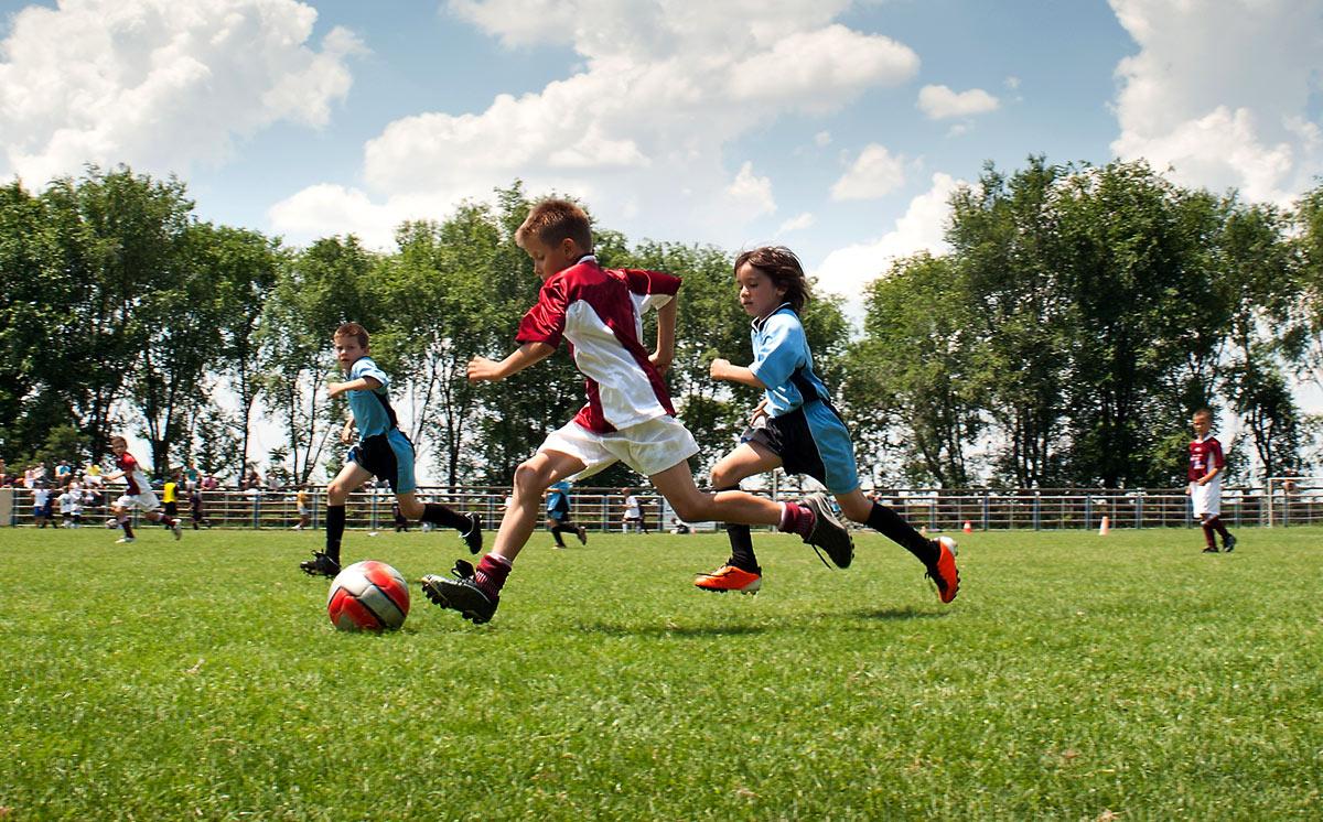 Fussballtraining Fur Kinder Schnelligkeitstraining