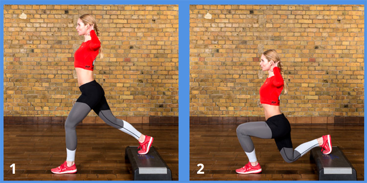 effektive Übungen für gesunde Hamstrings