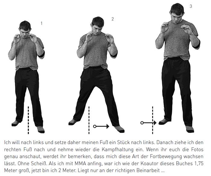 mma tipps anfänger: beinarbeit und bewegung