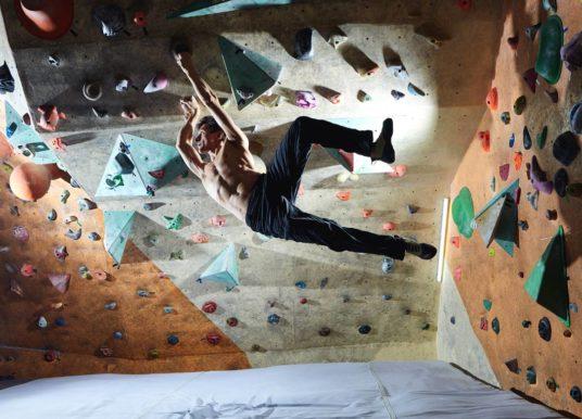Schulterschmerzen nach dem Klettern und Bouldern. Was tun?