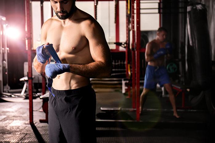 Boxtraining als Stressabbau
