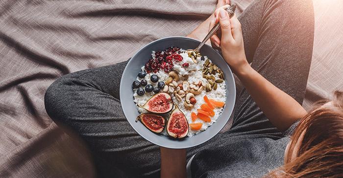 Porridge iat als ideale Zwischenmahlzeit geeignet