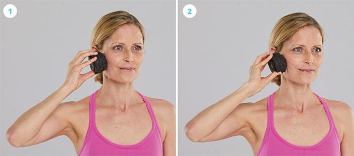 Übungen und Techniken gegen Schmerzen im Kiefer für zuhause