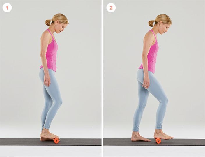 Übungen bei Fußschmerzen