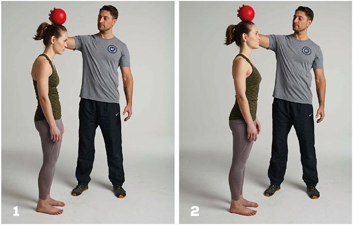 einfache übung zur verbesserung der körperhaltung