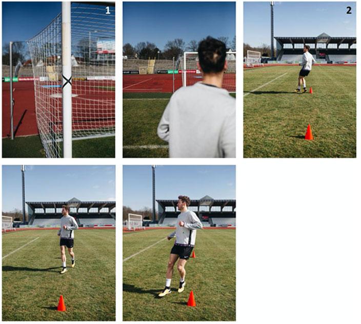 Verletzungsprävention im Fußball: mit dieser Übung für Fußballer lassen sich Verletzungen vermeiden