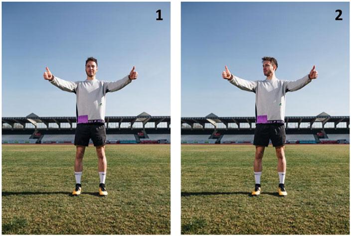 Verletzungsprävention im Fußball: mit dieser Übung für Fußballer lassen sich Verletzungen vermeiden und sie verbessern die Augen-Gehirn-Koordination