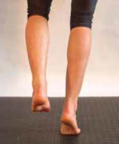 Übungen bei einer Entzündung der Achillessehne