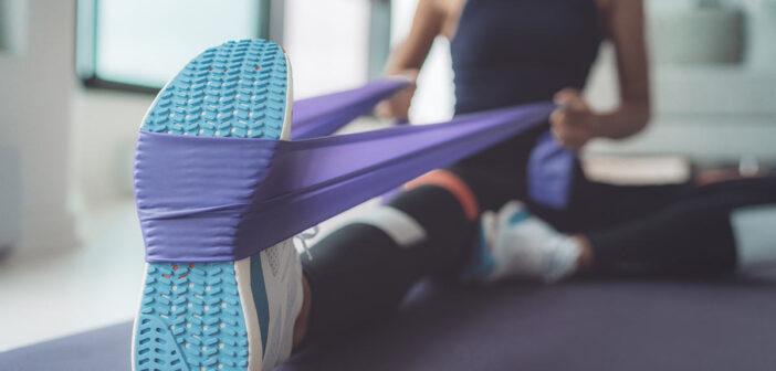 Effektives Training mit dem Fitnessband für zuhause