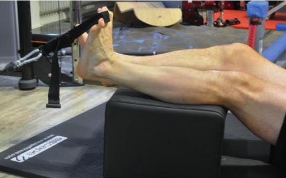 Eine Außenbandruptur haben schon viele Sportler hinter sich. Durch spezifische Übungen des Spunggelenks kann ein Umknicken verhindert werden.