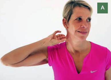 Unsere Halsmuskulatur hilft uns, den Kopf auf unserer Halswirbelsäule stabil zu halten und gleichzeitig beweglich zu lassen.