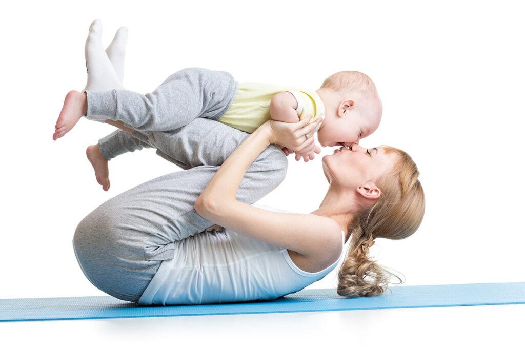 sport nach schwangerschaft: diese übungen sind sinnvoll